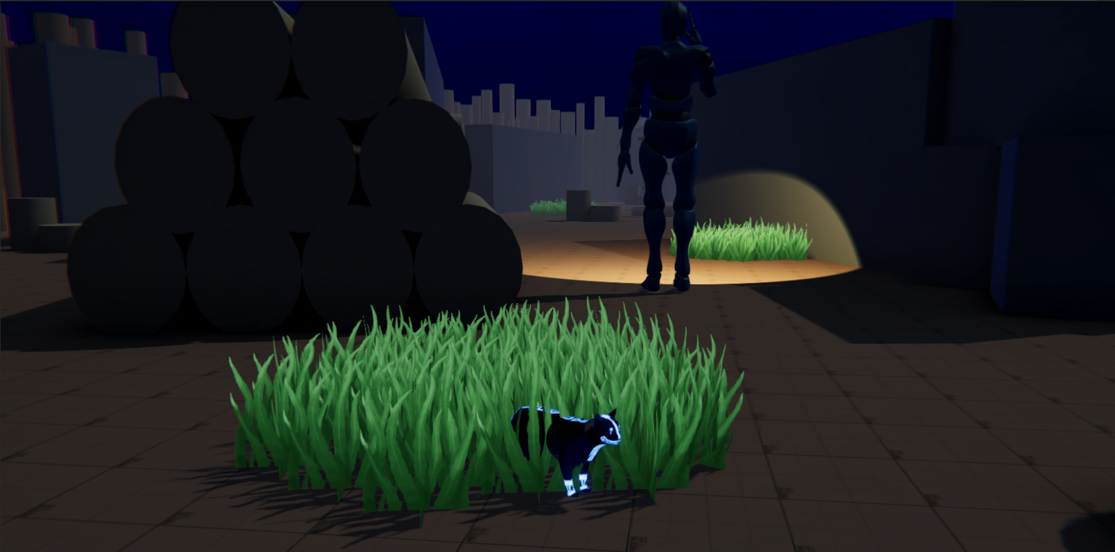 Jaguarundi, a playable character