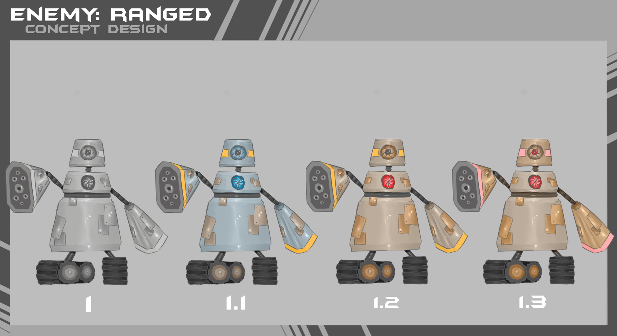 Enemy Ranged ConceptArt