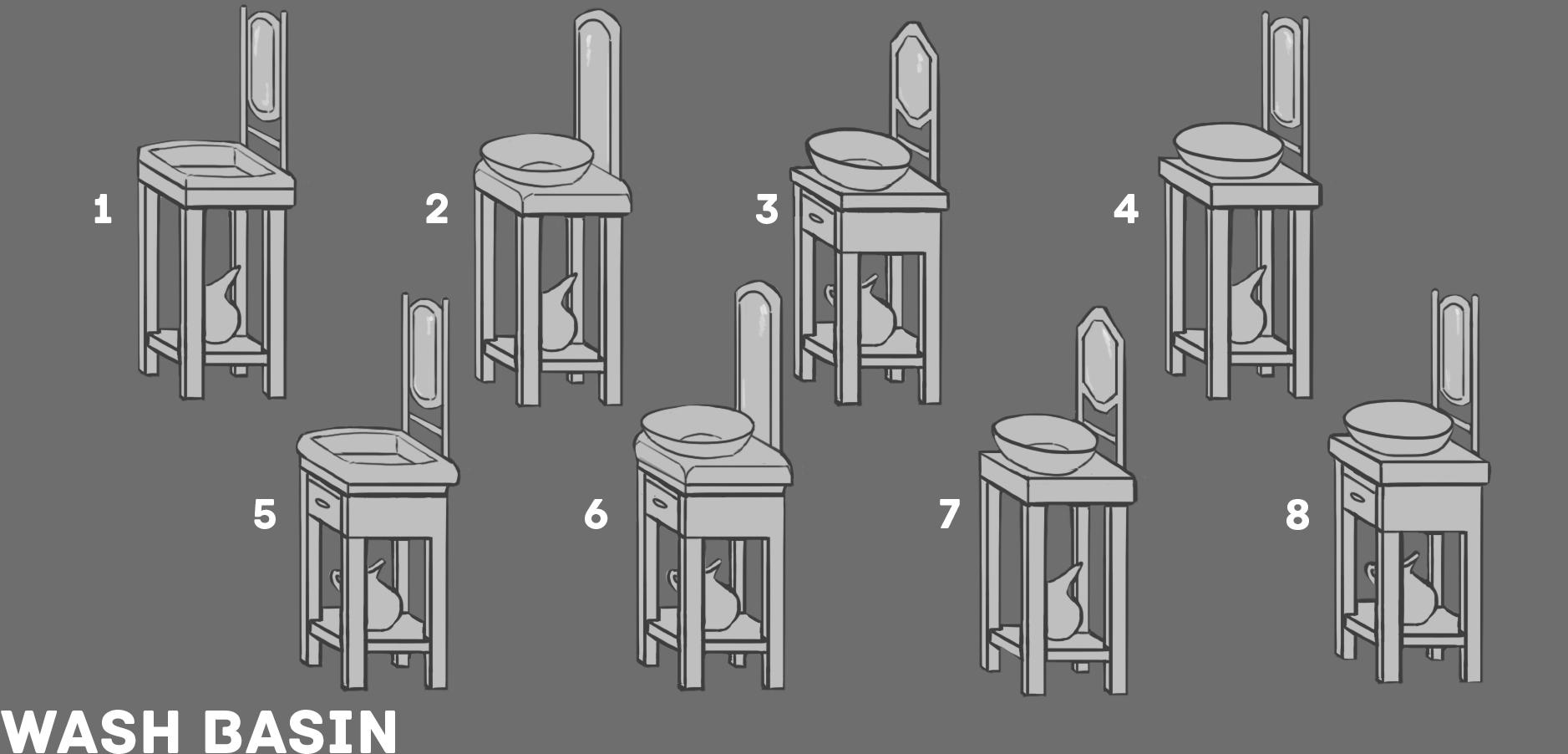 10b RD4 WashBasin Sketches