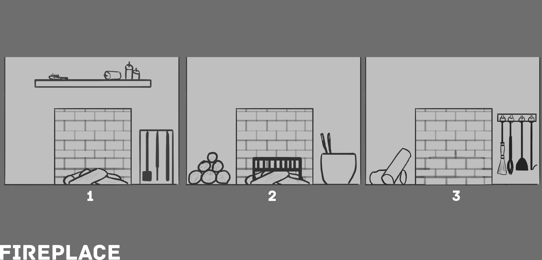 11a RD5 Fireplace Sketches V1