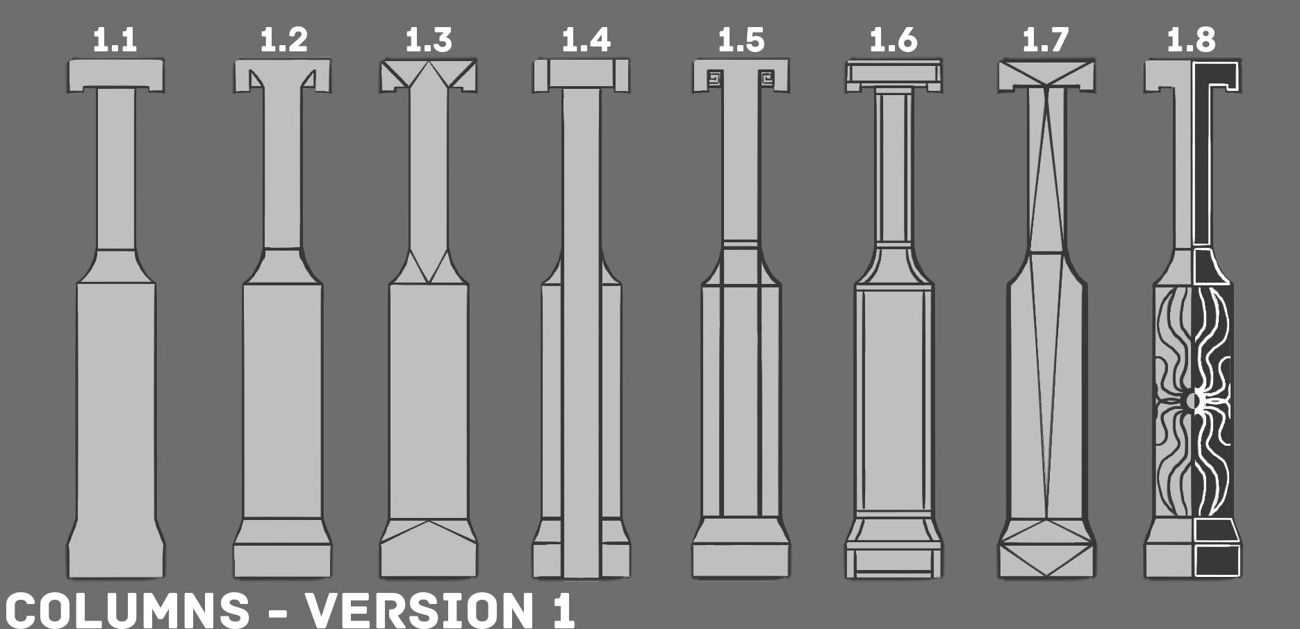 2a ED1 Column Sketches V1
