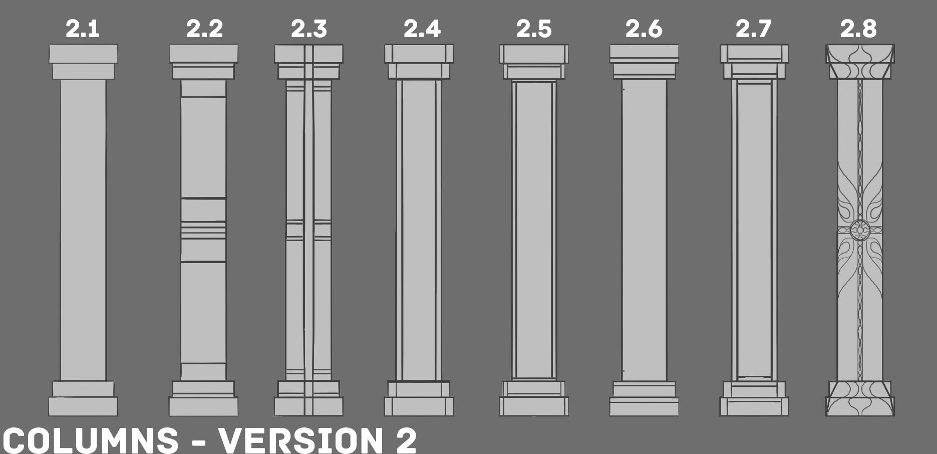 2b ED1 Column Sketches V2