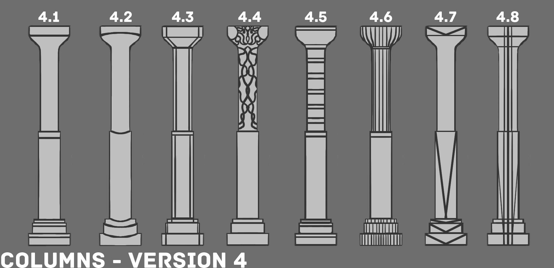 2d ED1 Column Sketches V4