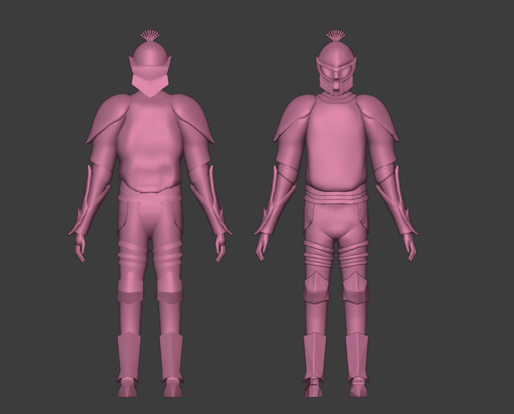 4 guards model progress