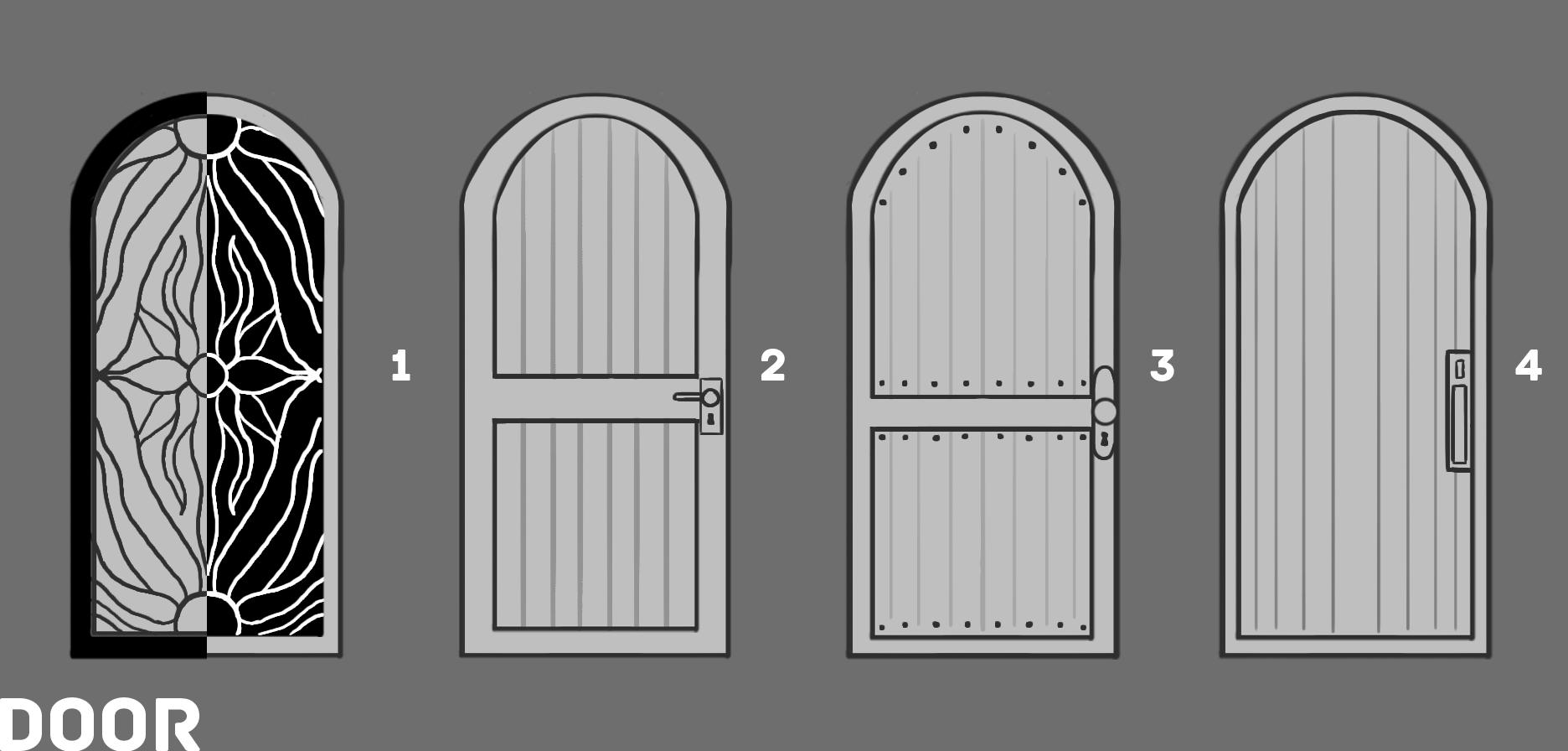 4b ED2 Door Sketches