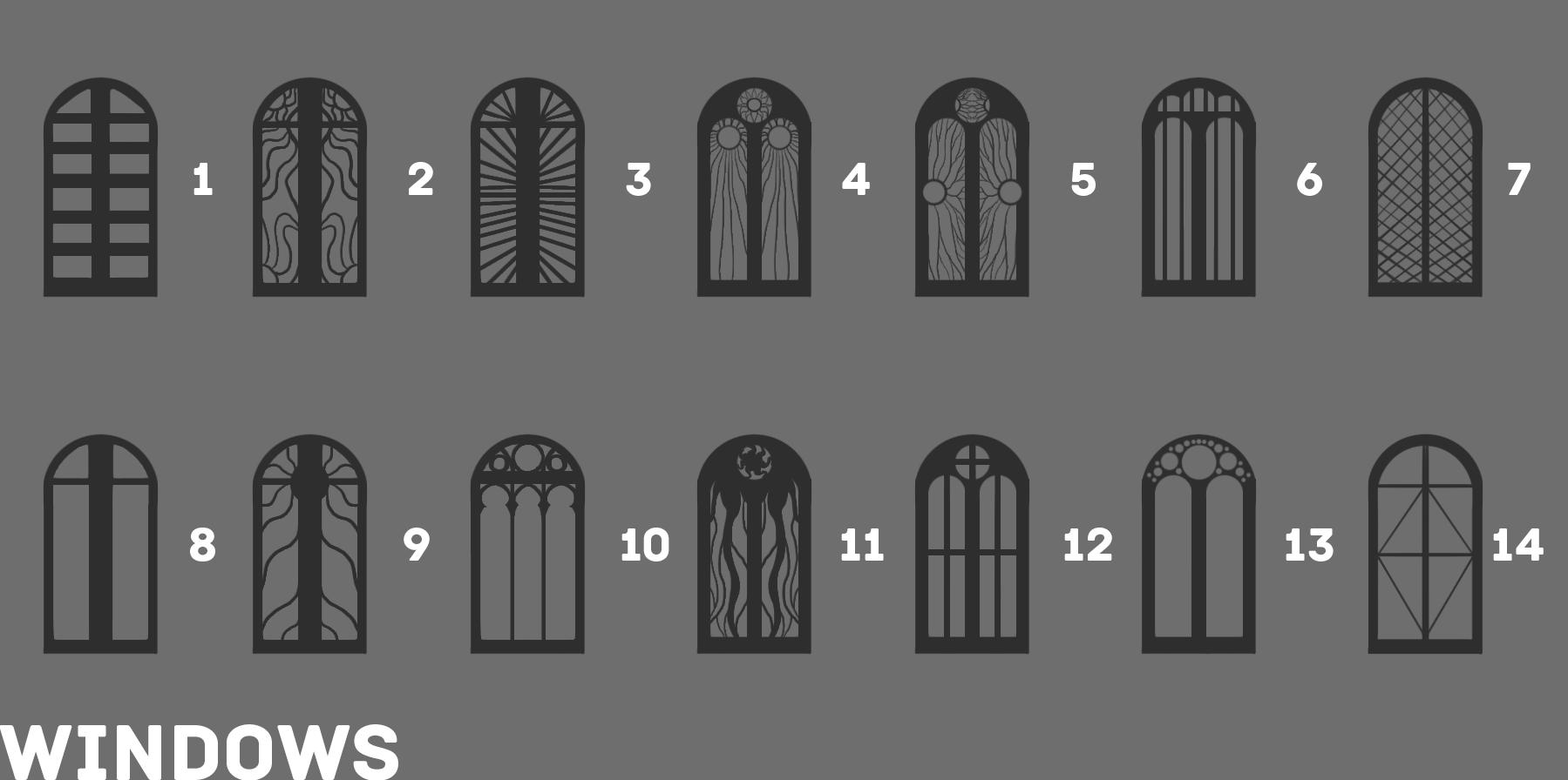 5b ED3 Windows Sketches