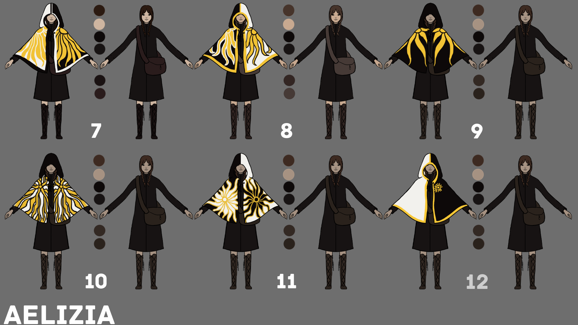 8   Cloak Designs pt 2