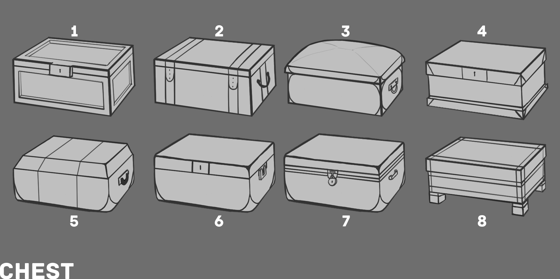 9a RD3 Chest Sketches