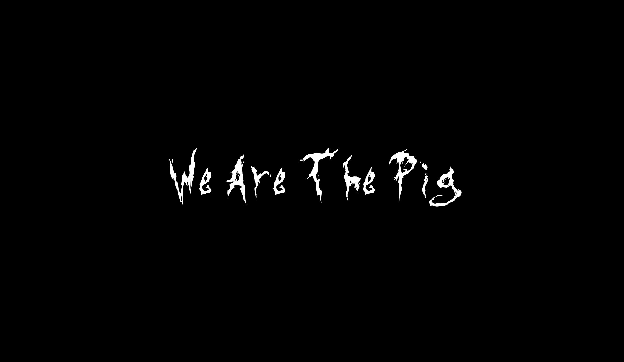 We Are The Pig (An Amnesia: A Machine for Pigs remake)
