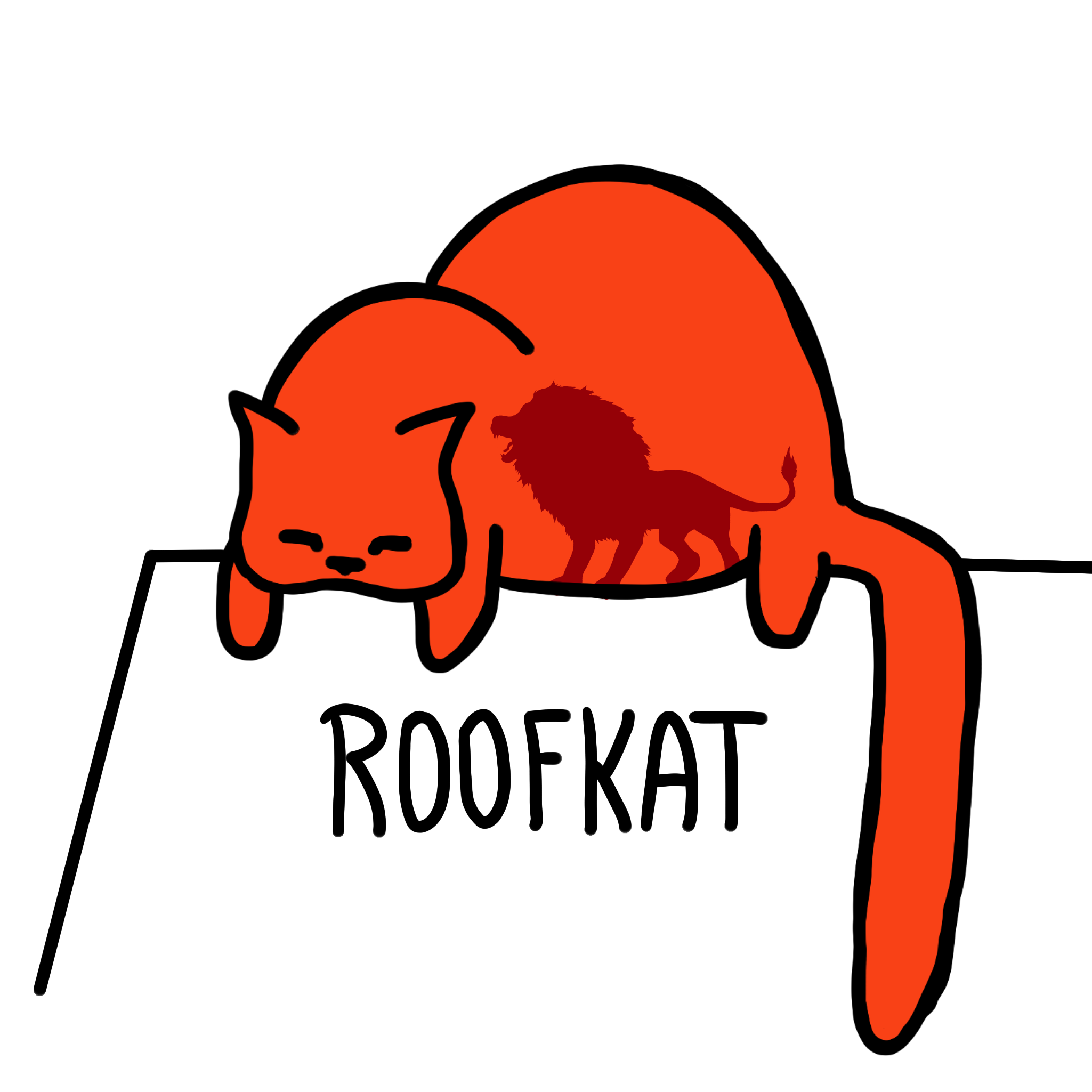 RoofkatPosterLion.png